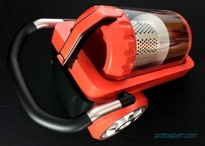 Aspirateur en Aluminium, ABS et Pc